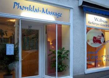 Blue massage essen