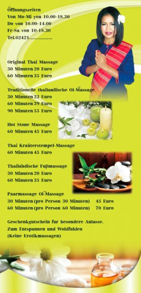 massage thai kneppe