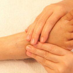 Thailändische Fuß Massage