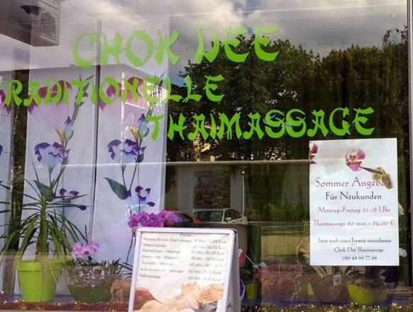 Chok Dee traditionelle Thaimassage Berlin (Tegel)