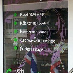 traditionellen thailändischen Massagen